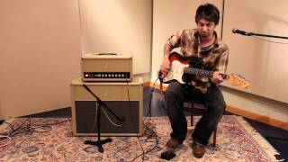 Dr Z Maz 38 Reverb with EQ bypass Demo with Dave Baker
