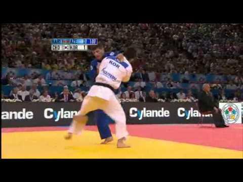 JUDO 2011 World Championships: Tarlan Karimov (AZE) - Jun-Ho Cho (KOR)
