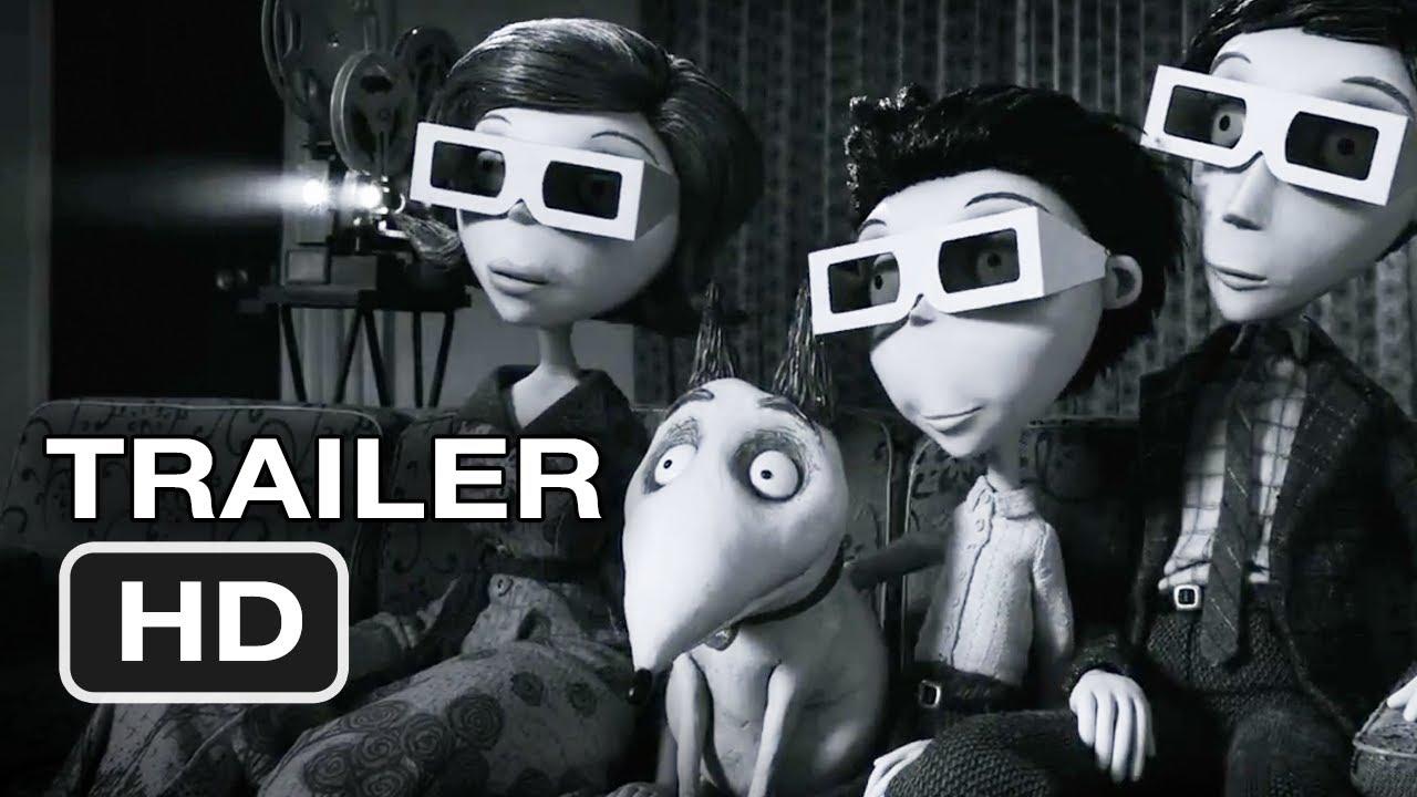 Frankenweenie Imax Policy Trailer 2012 Tim Burton Movie Hd Youtube