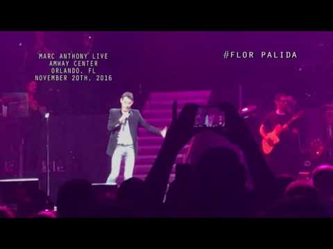 Marc Anthony Live Concert at Amway Center