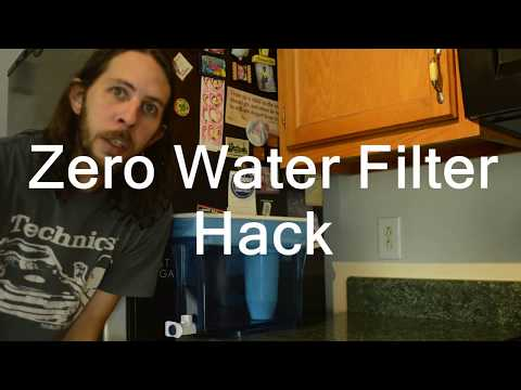 ZeroWater Water Filter Hack Save Money