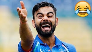 Virat Kohli Funny Moments in Cricket - Kohli Best