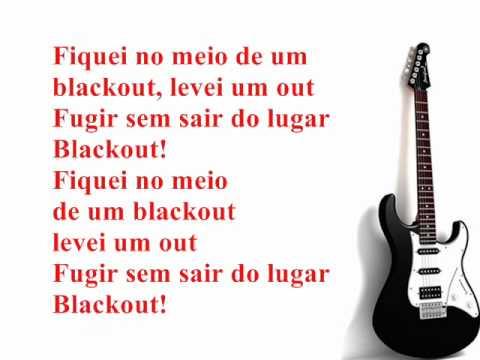Blackout - Banda Faibe (karaokê)