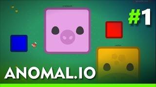 ANOMAL.IO - MOPE.IO QUADRADO - Gameplay #1