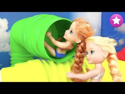 Fiesta en el PARQUE ACUA虂TICO Elsa y Anna Frozen Parque acu谩tico Water Park