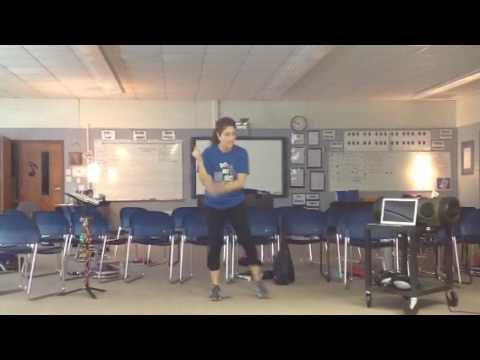 BGMS Choir - Try Everything - Choreography Slow Tempo