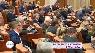 Megbukott a kormány Romániában