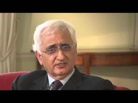 Salman Khurshid - UCD After Empire Leaders' Interview 2016