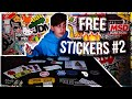 Gambar cover UNBOXING FREE STICKERS #2!!!! 𝘄/ 𝗟𝗶𝗻𝗸𝘀 Stickerbombed Guitar Case Review
