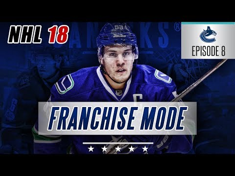 "NHL 18 Franchise Mode | Vancouver Canucks #8 ""D Upgrade"""