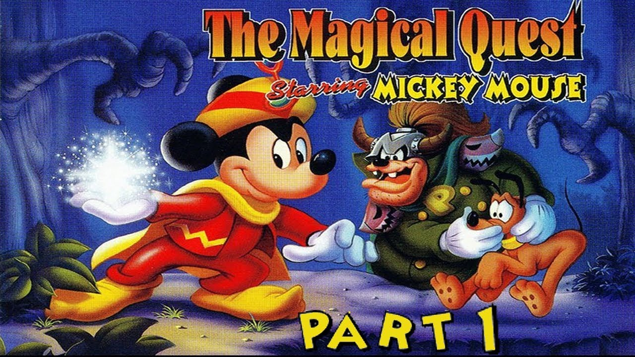 the magical quest starring mickey mouse part 1  youtube