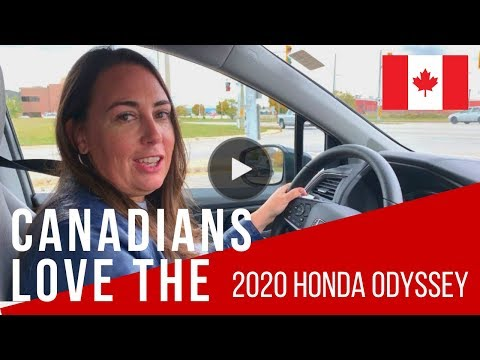 2020 Honda Odyssey Best Features For Canadians