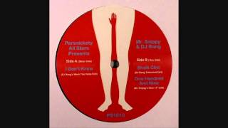 Persnickety All Stars - One Hundred And  Nine (Mr Snippy New 12