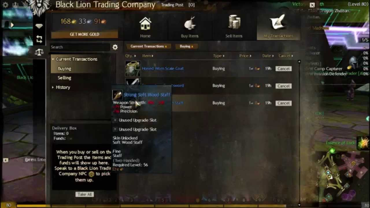 gw2 how to make gold