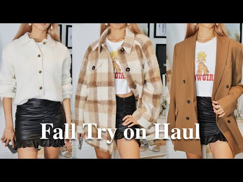 Fall Try On Haul || Sezane, Zara, & Other Stories