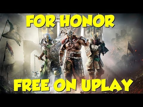 ubisoft for honor free