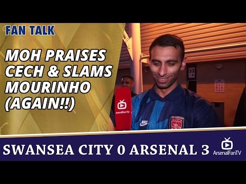 MOH PRAISES CECH & SLAMS MOURINHO (Again!!) | Swansea City 0 Arsenal 3