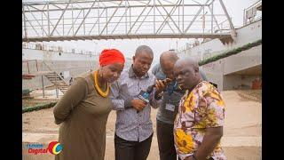 Simu Kutoka Ikulu yapigwa Clouds360/Pongezi kwakutembelea mradi mkubwa wa meli Mwanza.