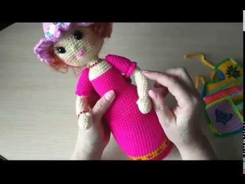 Кукла - помощница для рукодельницы №2. Обзор.