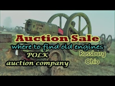 Doug Thornhill Estate Auction rare hit and miss engines