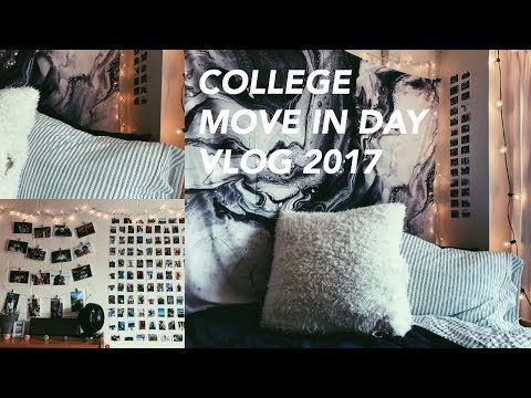 COLLEGE MOVE IN DAY VLOG 2017 // UNIVERSITY OF MICHIGAN (freshman)