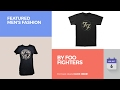 By Foo Fighters Featured Men's Fashion