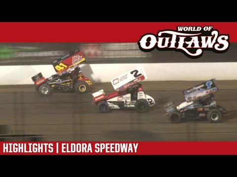 World of Outlaws Craftsman Sprint Cars Eldora Speedway May 12, 2017 | HIGHLIGHTS