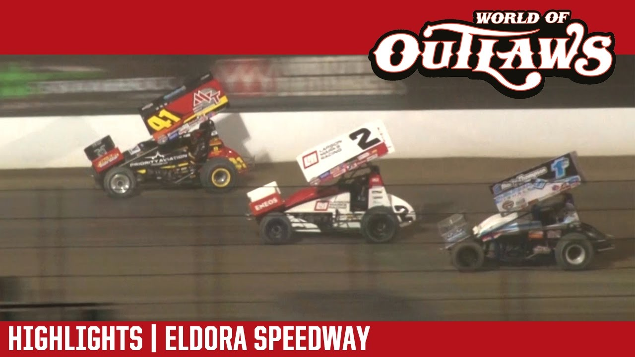 world of outlaws craftsman sprint cars eldora speedway may 12