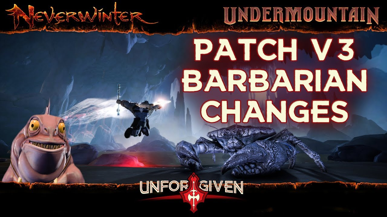 Neverwinter Mod 16 - 3rd Patch New Companions + Barbarian Changes Power Points for AD (1080p)