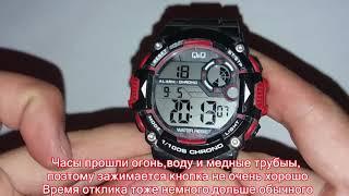 Як перевести час на годиннику Q&Q M146J003Y на годину вперед/назад