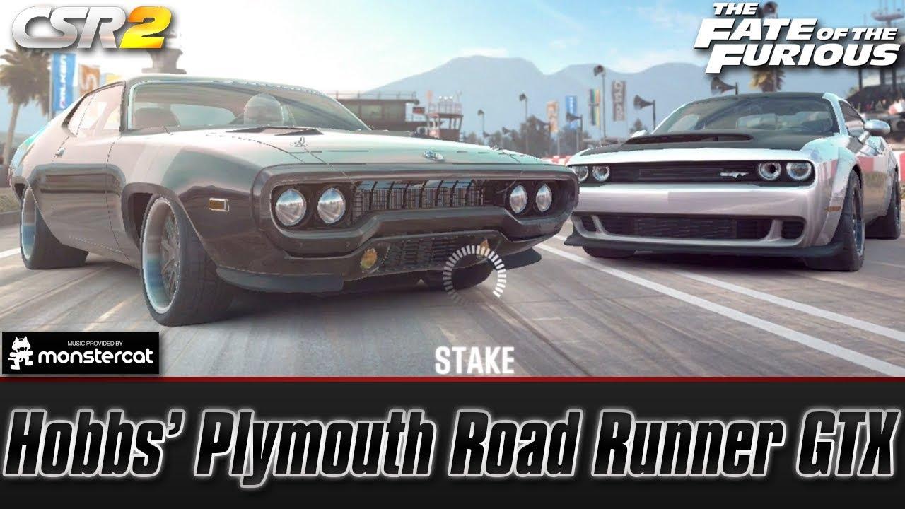 Hobbs' Plymouth Road Runner GTX (Live Lobby)   FASTEST CAR