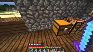 Come costruire una mitragliatrice automatica in minecraft 1.8 Ita