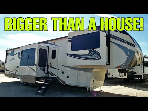 CHECK OUT THIS BEAST of a Fifth Wheel RV! Grand Design ST 380FL-R