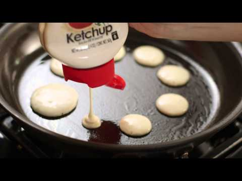 Ketchup Bottle Pancake Mix