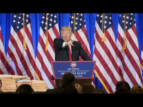 "Trump to CNN reporter: ""You're fake news"""