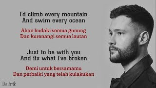 You Are The Reason - Calum Scott [Versi Duet Cover] - Lyrics Video Dan Terjemahan
