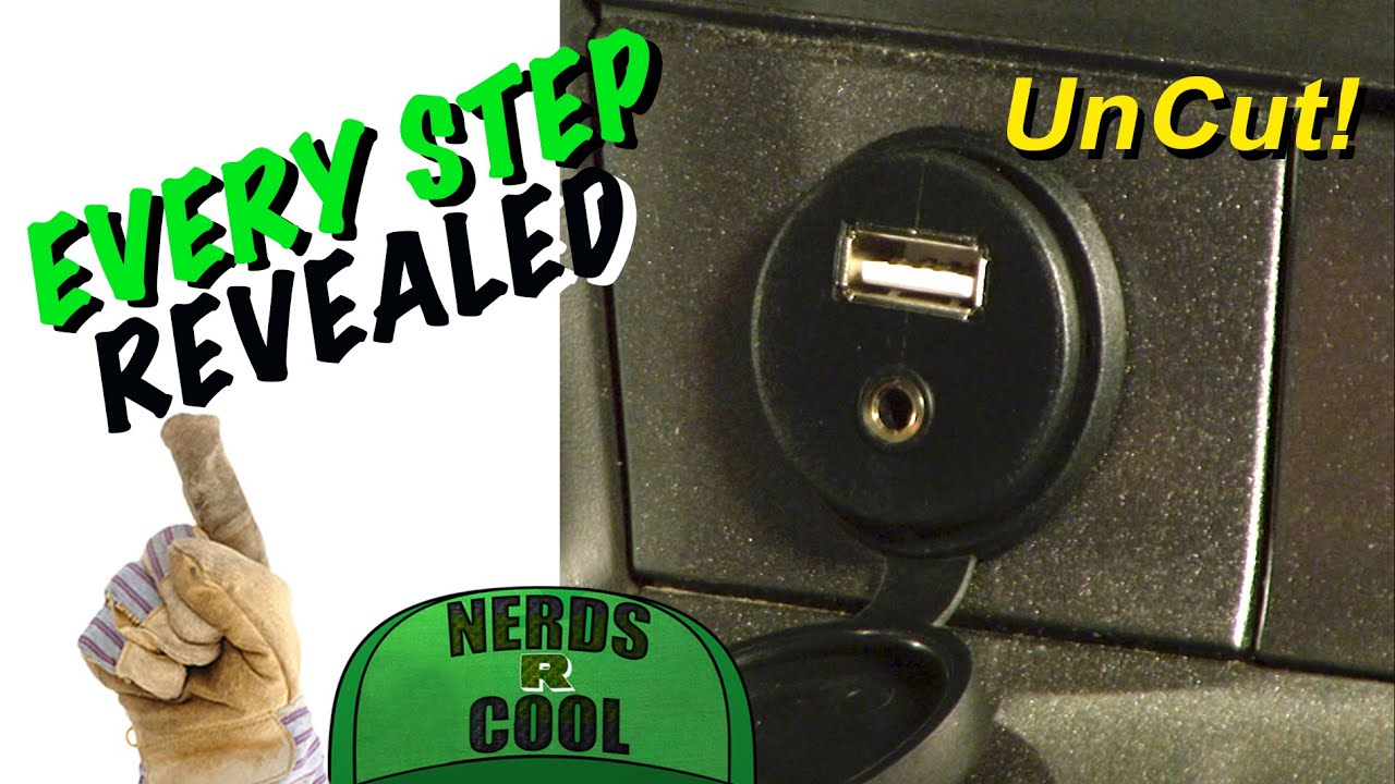 Auxiliary Jack For Car: How To Add AUX Plus USB JACK Car Stereo Hack