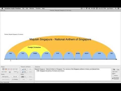 Majulah Singapura Versions In History Youtube