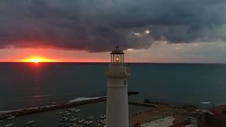 In volo sulla Sicilia - drone dji spark - #11 Faro Capo Scalambri - Santa Croce Camerina