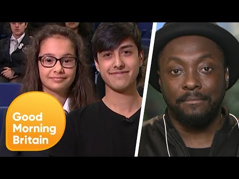 Will.i.am Salutes Ariana Grande's Choir and Manchester Bombing Survivors | Good Morning Britain