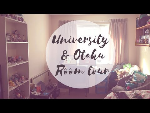 University and otaku room tour 2017