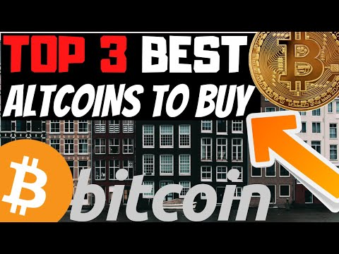 """TOP 3 CRYPTOCURRENCY """"ALTCOINS"""" TO BUY 2020 