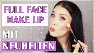 FULL FACE MAKEUP LOOK mit Neuheiten