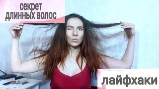Отрастить волосы быстро и  эффективно за месяц / лайфхаки / здоровые и густые волосы за копейки