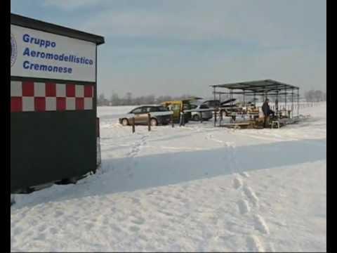 Volare sulla neve a Cremona