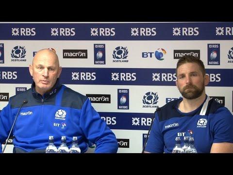 Scotland 29-13 Wales - Vern Cotter & John Barclay Full Post Match Press Conference - Six Nations