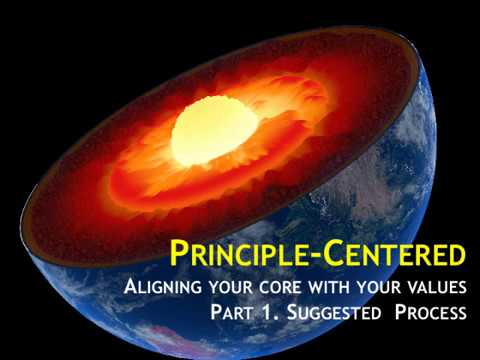 WCTG: Principle Centered Goal, Part 1. Suggested Process