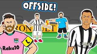 🤣Morata OFFSIDE x3!🤣 (Juventus vs Barcelona 0-2 Champions League highlights goals Dembele Messi)