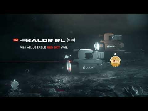 Olight BALDR RL Mini WML Weaponlight + Red Laser