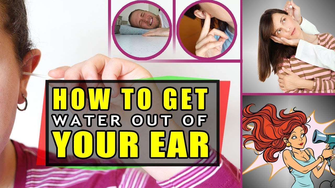Swimmers ear  How to get water out of your ear  Swimmers ear treatment  YouTube